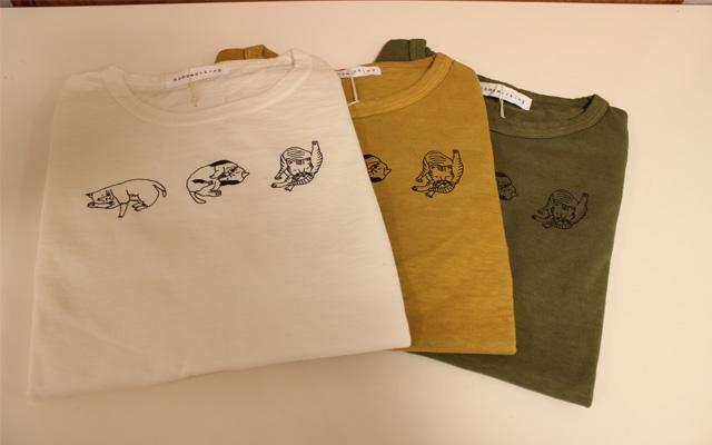 HWねこTシャツ1